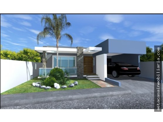 Casa de 1 nivel con marquesina Sencilla $2.950