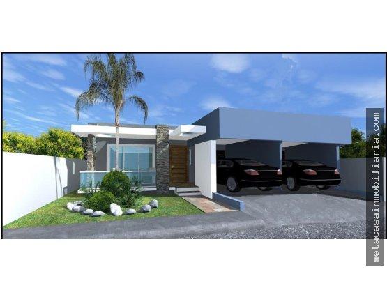 Casas de 1 nivel con marquesina doble ·3.200