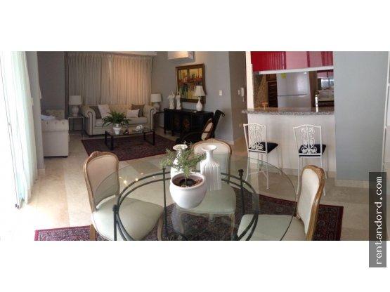 Apartamento amueblado 1 habitacion en Naco