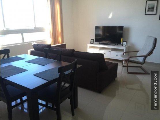 Apartamento amueblado 2 habitaciones en E. Morales