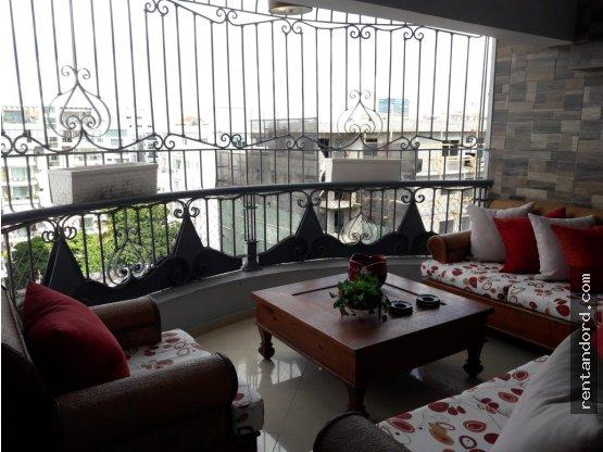 Apartamento amueblado 3 habitaciones E. Morales
