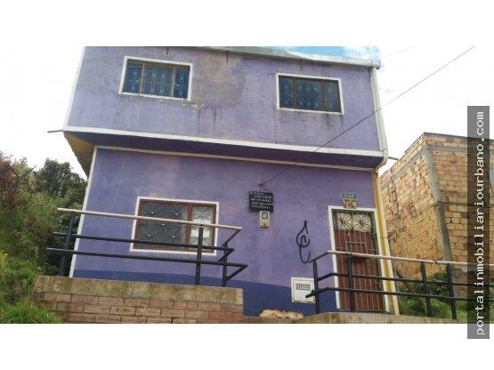 Venta de casa en el barrio Uval en Usme.