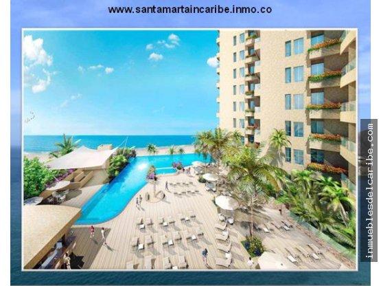 apartaestudio en venta complejo hotel Santa Marta