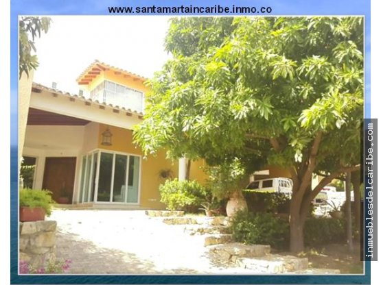 En venta casa de lujo Rodadero Santa Marta