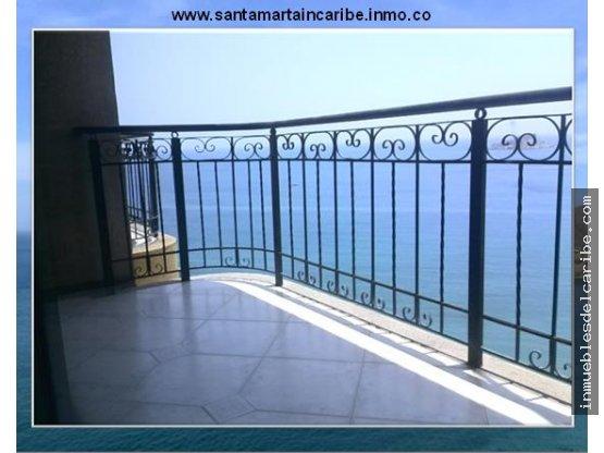 En venta apartamento playa Rodadero Santa Marta