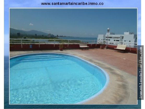 apartamento en venta media cuadra playa SantaMarta