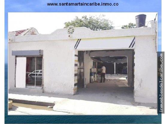 lote en venta centro Santa Marta