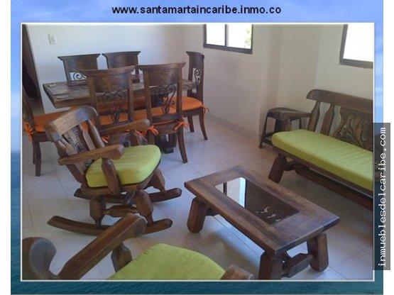 Arriendo apartamento sector residencial Rodadero