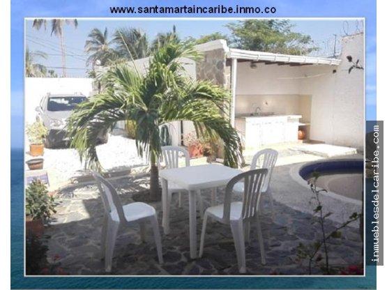 casa en venta a 3 cuadras de playa Santa Marta