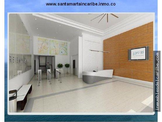 a la venta oficina SantaMarta edificio Empresarial