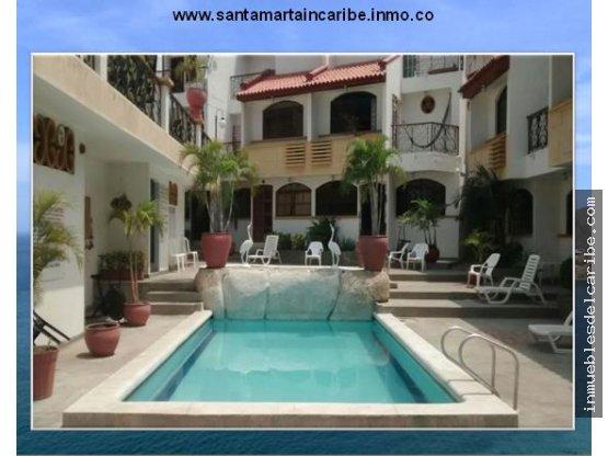 a la venta casa en conjunto con piscina Rodadero