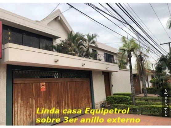 Casa en Equipetrol  3er an. ext. Equipetrol Sirari