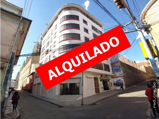 ALQUILER LOCAL COMERCIAL ZONA CENTRAL LA PAZ