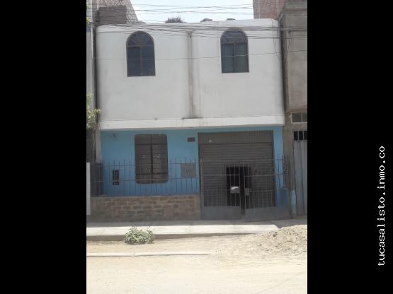 ocasion vendo casa de 2 pisos a precio de terreno