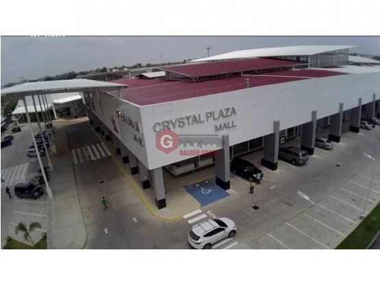 ALQUILER LOCALES COMERCIALES / CRISTAL PLAZA MALL