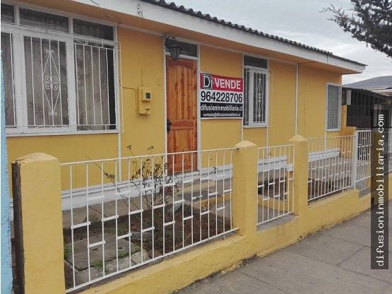 En venta casa central con terreno en Illapel