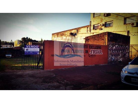VENDO TERRENO COMERCIAL s/ Av. URUGUAY