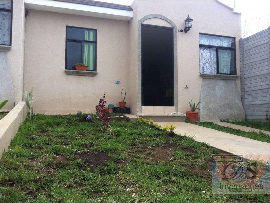 Rento casa de 1 nivel en Jardines de Montecristo