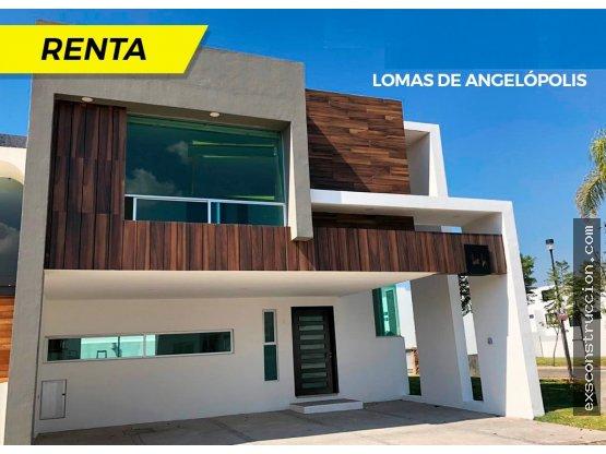 Casa en renta en Lomas de Angelópolis, Puebla