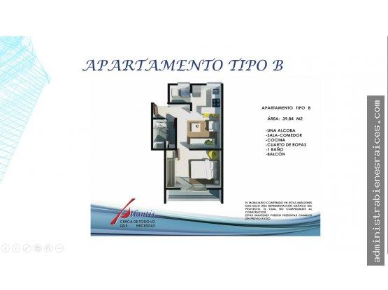 Apartamento 1 alcoba Campohermoso Manizales