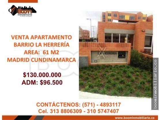 *VENTA APARTAMENTO 61 M2, MADRID CUND.