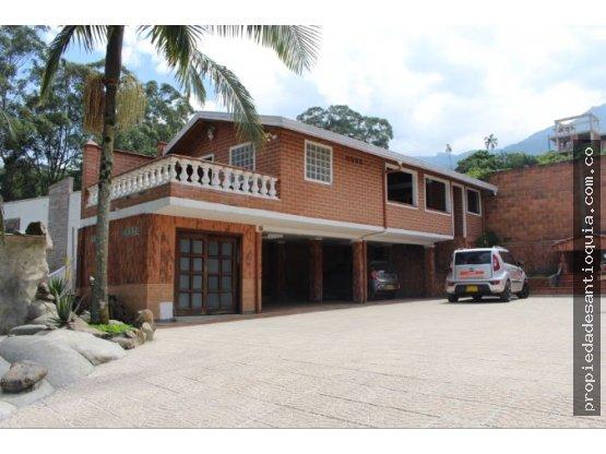 Casa Campestre en Venta sector San Lucas Envigado