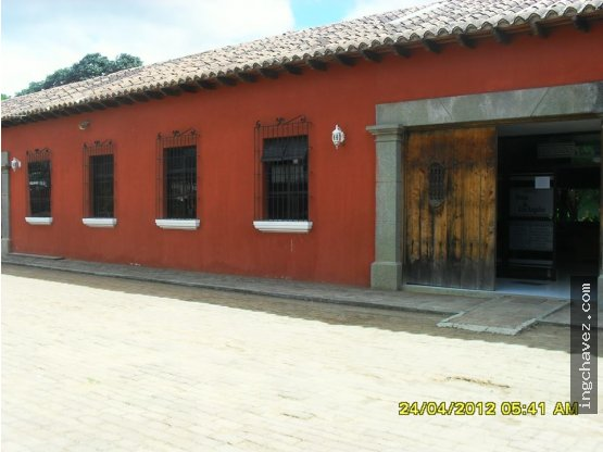 Edificio en Antigua Guatemala