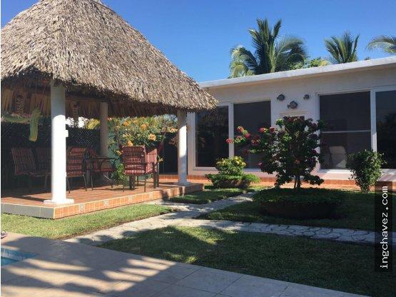 Casa de Playa en Tortuga Laguna, Km.2 Iztapa