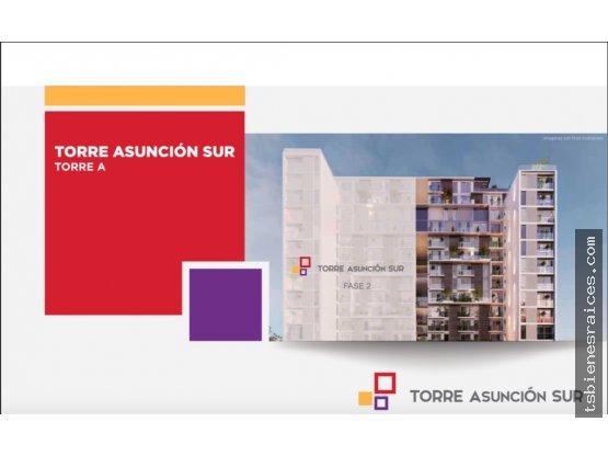 Torre Asunción Sur. Apartamentos en zona 5.