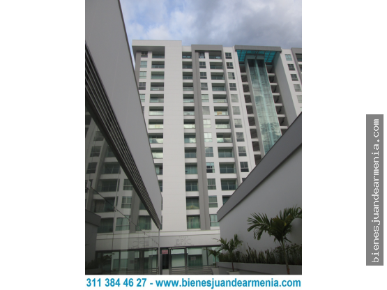 Apartamento-2 Alcobas-Garaje-56mt²-Uni.Quindío