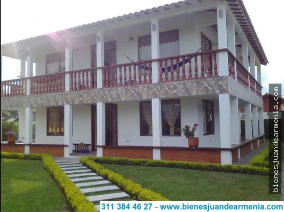 Casa campestre-516mt²-Conjunto Cerrado-Caimo