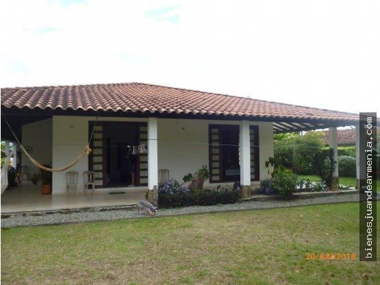 Casa campestre Agua Bonita, amplios espacios