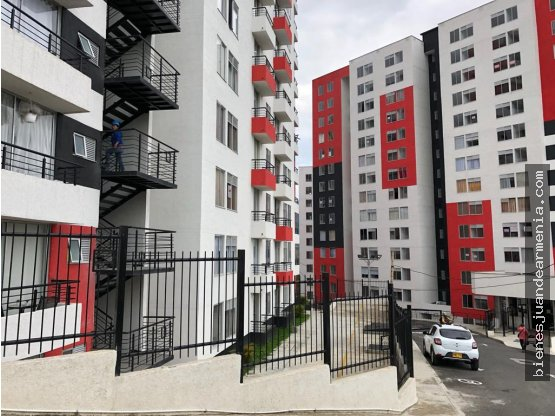 Apartamento 2 Alcobas, Piso 3, Parqueadero, Nuevo