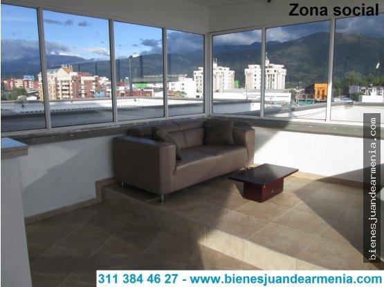 Apartamento en Laureles-96mt²-3 Alcobas-Garaje