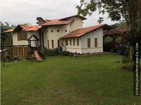 Casa Campestre Salento Conjunto Cerrado 2500 Mts