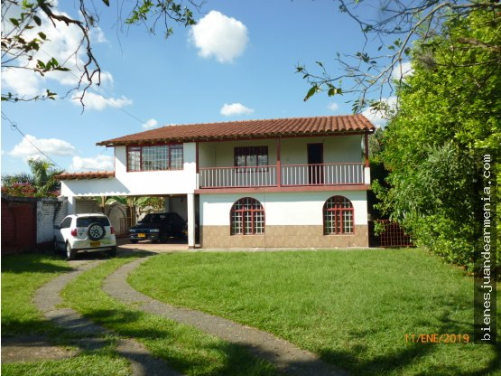 Casa Campestre 525 Mts2  Via Tebaida, Jacuzzi