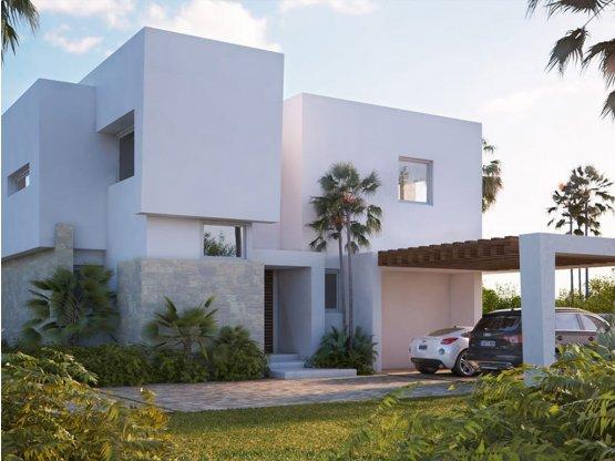 Villas modernas con vistas al mar Marbella Este