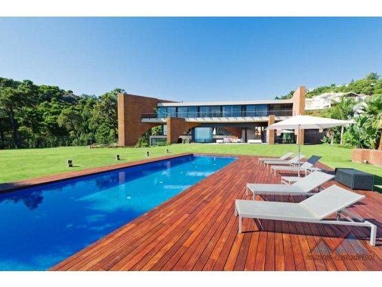 Espectacular villa vista al mar Benahavis