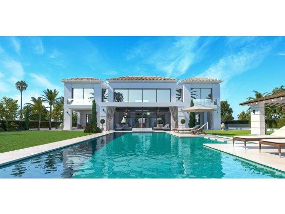 Villa independiente 5 habitaciones Guadalmina Baja