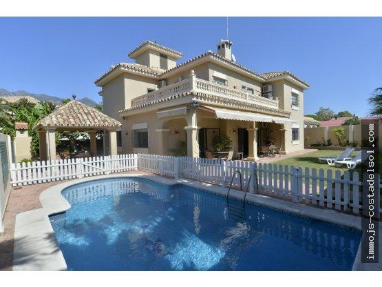 Villa dans le centre de Marbella