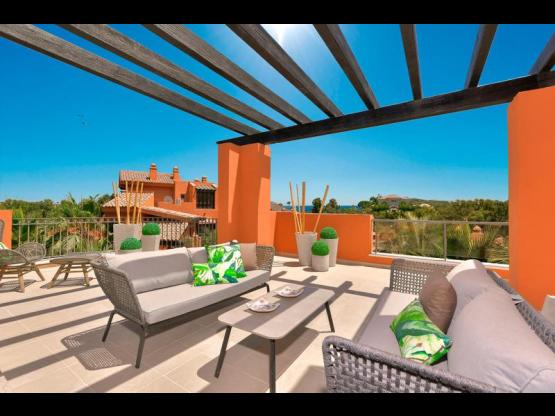 Apartamentos estilo andaluz en Golf Marbella Oeste