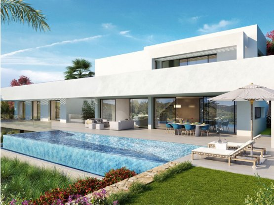 Lujosas villas diseño moderno Golf 5 estrellas