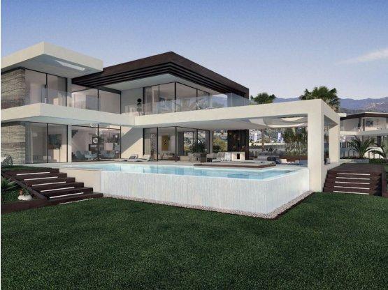 Complejo de villas independientes en Estepona