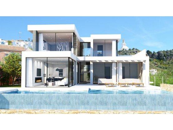 Villas diseñadas sobre la costa de Benalmádena