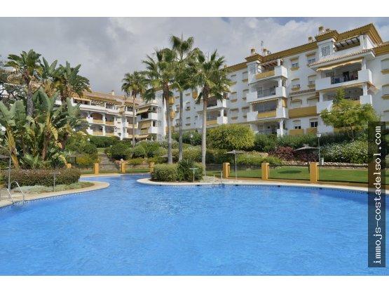 Marbella, appartement  avec terrasse et jardin.