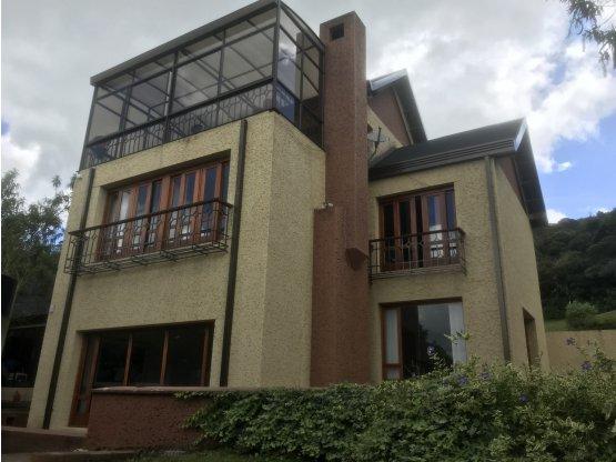 Casa en venta chia sindamanoy