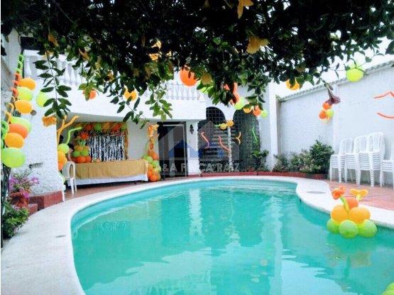 A la Venta Casa Barrio Olaya Piscina Barranquilla