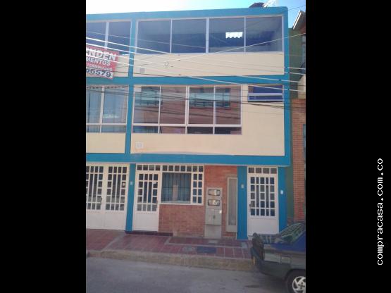Venta Apartamento Paipa Centro- Gaitán- obra Gris