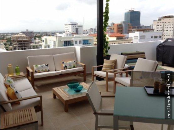Venta de Penthouse en Evaristo, Santo Domingo