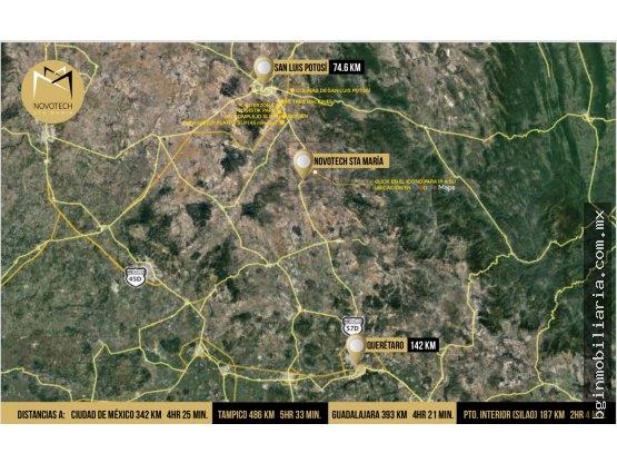 Terrenos industriales en Santa Maria del Rio
